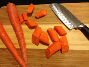 What else do you do when you have a 10lb bag of organic carrots from Costco that you need to use up?