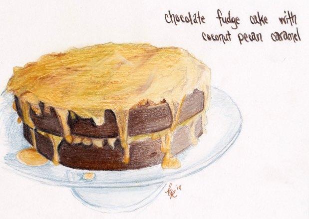 Chocolate Fudge Cake Rendering